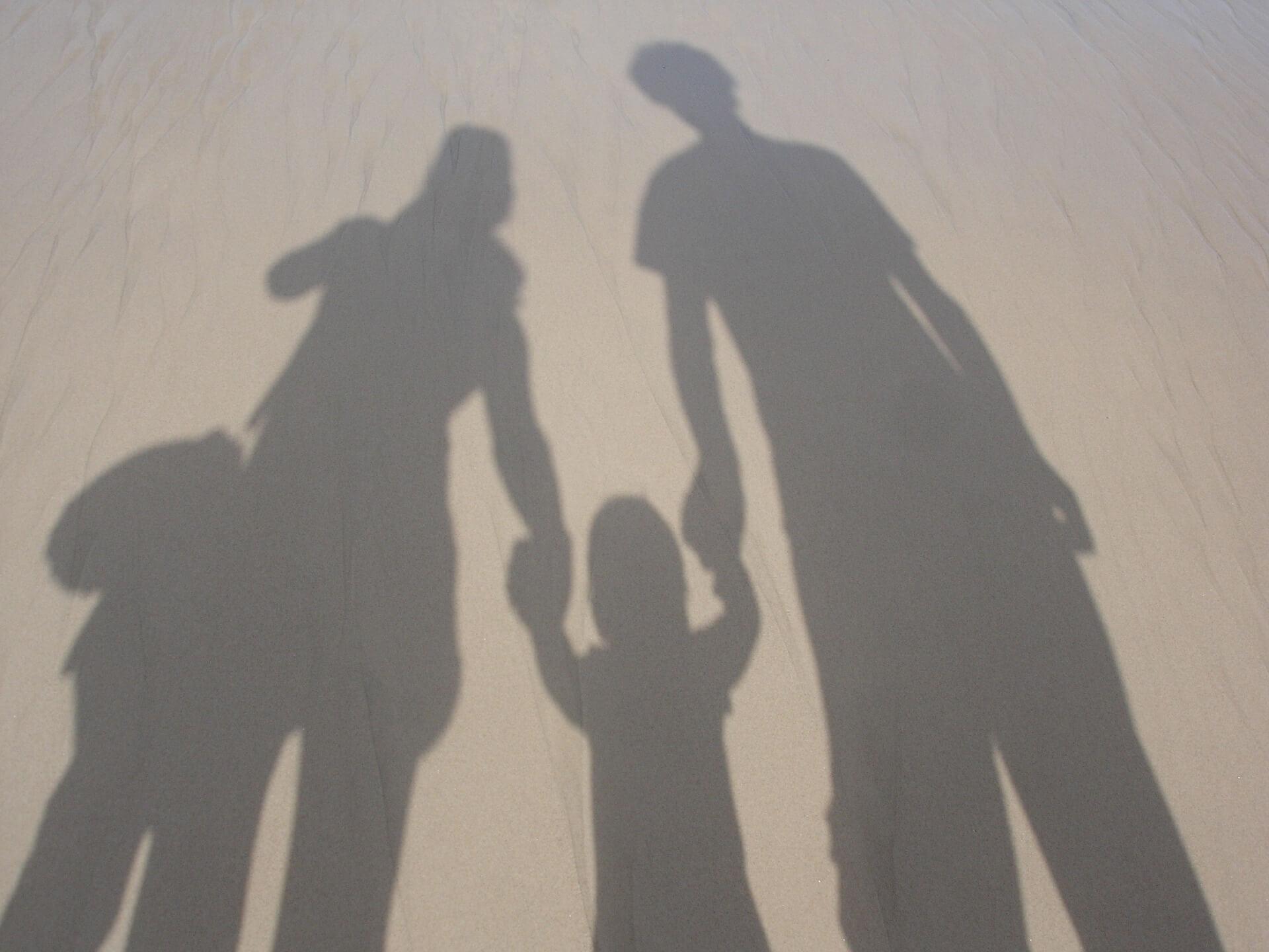 Familien i ferien